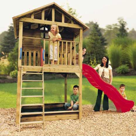 Wooden Hampton Tykes Playhouse